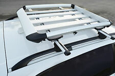 Alloy Aero Roof Rack Mounted Luggage Basket Carrier Cage for Prorack Roof Rack M