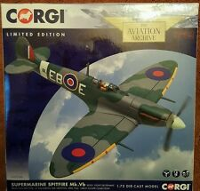 CORGI AVIAZIONE Supermarine Spitfire Mk.Vb GREAT ESCAPE COLLECTION aa31934a NUOVO