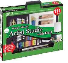 DALER ROWNEY Discontinued Multimedia Artist Studio with Easel 111 PCS