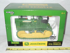 John Deere 2010 Crawler With Rubber Tracks  First Production Edition  By Ertl