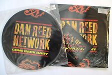 "DAN REED NETWORK 2 X 12"" SINGLES COME BACK BABY PIC DISC + LTD ED NUMBERED 1989"
