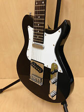 Caraya 3/4 Size Traveler Series Tele-Style Electric Guitar,Black+ Full Set Gifts