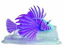 NEW SuperFish FLUO Ornaments Lion Fish Blue Tank & Aquarium Decoration