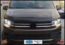 VW  T6 TRANSPORTER /CARAVELLA/MULTIVAN BLACK ACRYLIC BONNET 2015 ONWARDS