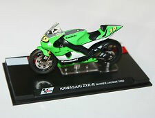 IXO - KAWASAKI ZXR-R Olivier Jacque (2005) Moto GP Motorcycle Model Scale 1:24