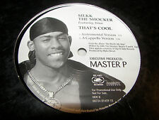 """Silk The Shocker w/Trina That's Cool 12"""" Single NM No Limit 81459-15 2000 PROMO"""