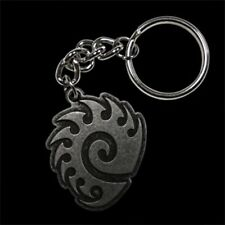 Officially Licensed Blizzard StarCraft II 2 ZERG Logo KeyChain KeyRing HOTS WOL