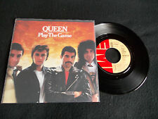 QUEEN-PLAY THE GAME/A HUMAN BODY (GERMAN PRESS)