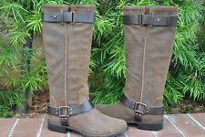 UGG Dree Women's Tall Chocolate Suede Boots Size US 11 UK 9.5 EU 42 NWB