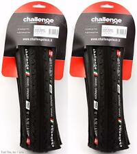 2 x Challenge Gravel Grinder Race 700x38 Folding Clincher Bike Tires CX (1-Pair)