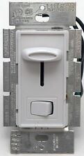 Lutron Skylark SCL-153P-WH White 3-Way Dimmer/Rocker LED/CFL Light Switch 150W