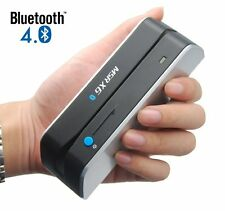 MSRX6BT Mini Bluetooth Magnetic Credit Card Reader Writer Portable Strip MSR206