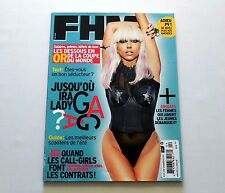 Lady Gaga FHM French Edition Magazine May 2010 New