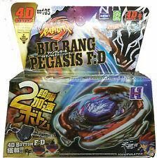 Big Bang Pegasis pegasus Beyblade 4D Top Metal Fusion Fight Master Launcher Grip