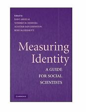 Measuring Identity : A Guide for Social Scientists (2009, Paperback)