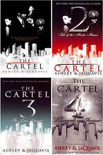 The Cartel Series 1-4 MASS MARKET Paperback Collection by Ashley & Jaquavis! New