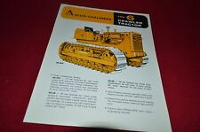 Allis Chalmers HD-6 Crawler Tractor Dealers Brochure YABE11 VER93