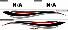 WAVE - Boat, Trailer, Yacht, Watercraft Decals/Stickers/Graphics Kit