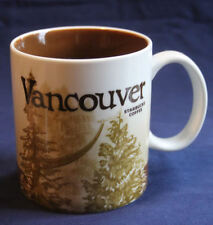 2011 STARBUCKS VANCOUVER BC Canada ICON MUG 16oz. MINT CONDITION