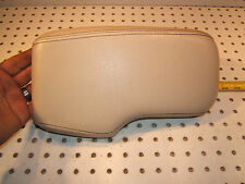 Jaguar 2000 S Type front console leather WHITE top Genuine 1 Cover / armrest