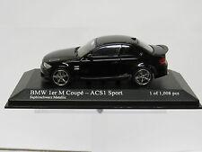 BMW 1 M Coupé - ACS1 Sport Black Metallic 1/43 Minichamps 410020041