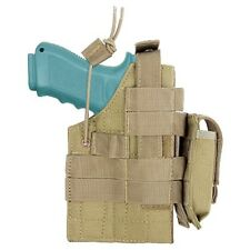 Condor Tan MOLLE Ambidextrous Holster Pistol Magazine Pouch fits Glock