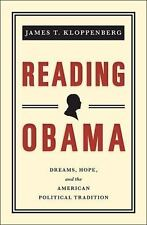 Reading Obama: Dreams, Hope, and the American Political Tradition-ExLibrary