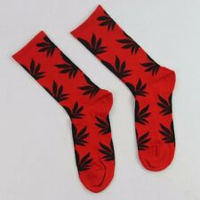 Newest Women Men Marijuana Long Cotton Sport Weed Leaf Socks Ankle Sock Crew LIH