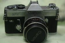 canon FT    QL 50MM1.8