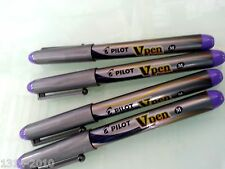 Pilot Vpen Fountain Pens Medium point  VIOLET ink  x 4 pcs