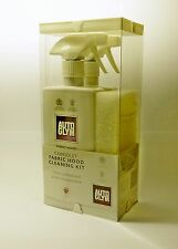 Autoglym Soft Top Fabric Car Hood Roof Cleaner Care Kit.