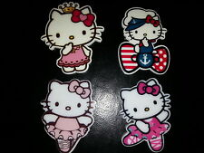4 pc. HELLO KITTY Huge 33mm Planar resin flatback US SELLER