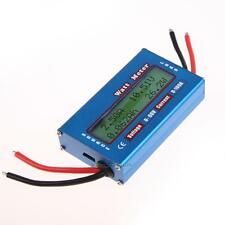Digital LCD Watt Meter Power Volt Amp Meter RC Battery Analyzer 12V 24V Blue Hot