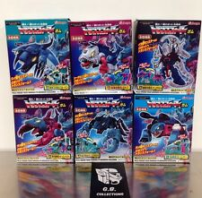 Transformers Kabaya Seacons Complete 6 - Piranacon - NEW SEALED