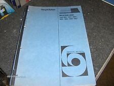 Bang & Olufsen Service Manual Beocord 8000 Type 4821-4827