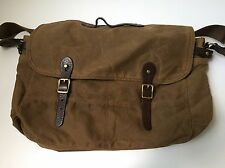 $98 J.Crew Dry Goods & Mens Furnishings ABINGDON Shoulder Messenger Bag 51657