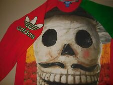 Adidas Day Of The Dead Sweatshirt NEW Dia De Los Muertos Mexico Mens Large L
