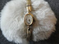 Ladies Swiss Made Elgin Wind Up Vintage Watch - Not Working