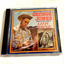 Brand NEW CD - - George Jones Sings the Great Songs of Leon Payne - - CD
