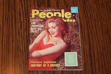 People Today October Oct 1959 Pocket Size Digest Men's Magazine See My Store