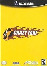 Crazy Taxi (Nintendo GameCube, 2001) - Game, Case, and Manual Included