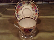 DEMITASSE CUP AND SAUCER...LIMOGES