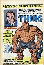 THE THING (FANTASTIC FOUR) - lot of 12 different 1990s or earlier comic books
