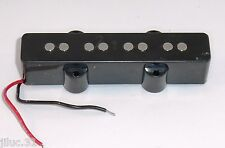 micro JAZZ BASS bridge céramique black pour FENDER, SQUIER ou autre Jbass