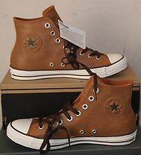 NEW CONVERSE CHUCK TAYLOR  ALL STAR LEATHER  HI MEN'S 12