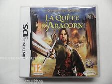 jeu LE SEIGNEUR DES ANNEAUX LA QUETE D'ARAGORN pour nintendo DS game spiel juego