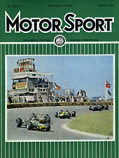Motor Sport (Sep 1966) Triumph 1300, German & Dutch GPs, Hockenheim, Fiat Tipo