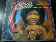 BOX 2 CD GLORIA GAYNOR-I WILL SURVIVE DOUBLE HITS ALBUM donna summer,disco 70's