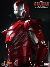 Hot Toys Iron Man 3 Silver Centurion Mark XXXIII MK 33 New / Mint SEALED Shipper