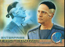 STAR TREK ENTERPRISE SEASON 1 FIRST CONTACT CARD F5